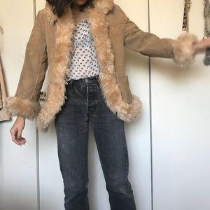 Vintage Suede Penny Lane Coat